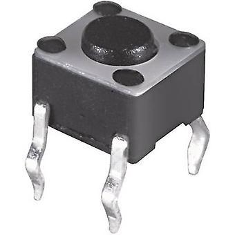 Soreha electrónica JTP - 1130L pulsador 12 Vdc 0.05 A 1 x Off/(On) momentáneo 1 PC