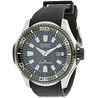 Citizen Eco-Drive Promaster duiker Rubber Mens Watch BN0085-01E