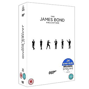 De James Bond collectie 1-24 [2017] DVD boxset