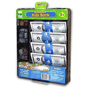 El sistema del dinero aprendizaje viaje niños Banco juego