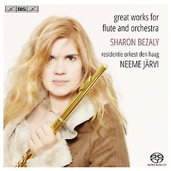 Nielsen/Griffes/Reinecke/Chaminade/Tchaikovsky/Pou - Great Works for Flute & Orchestra [SACD] USA import