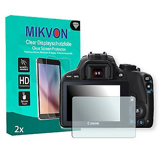 Canon EOS Kiss X7 Screen Protector - Mikvon Clear (Retail Package with accessories)