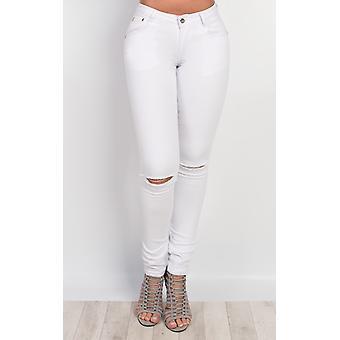 IKRUSH dame Galina rippet Skinny Jeans