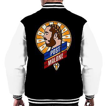 Post Malone Retro Men's Varsity Jacket
