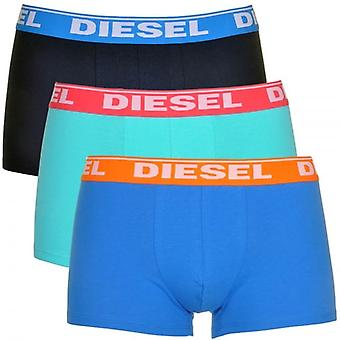 Diesel Fresh And Bright UMBX-Shawn 3-Pack Boxer Blues, X-Large