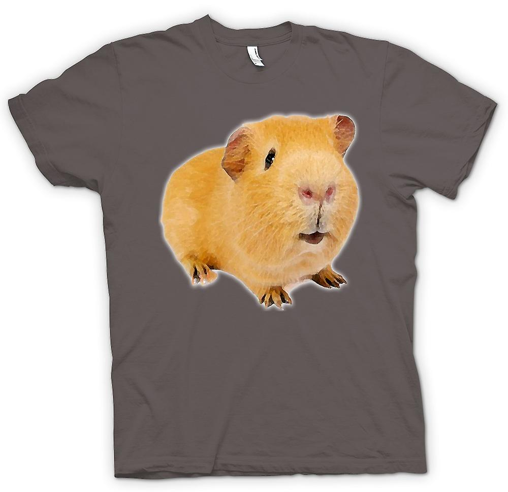 Womens T-shirt - Guinea Pig 2 - Pet Animal