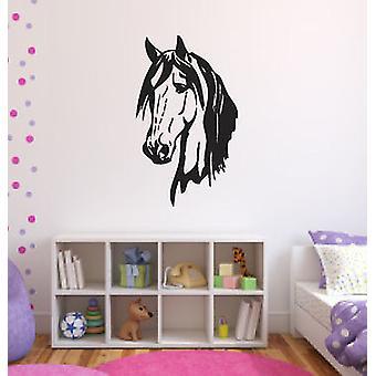 Horse Head 2 Stallion Wall Sticker
