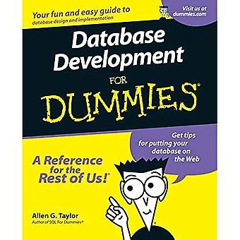 Database Development For Dummies� (For Dummies)