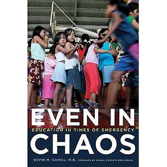 Auch im Chaos: Bildung in Zeiten der Not