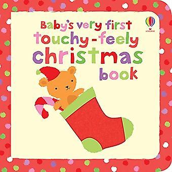 Primeiro livro de Natal sensível do bebê