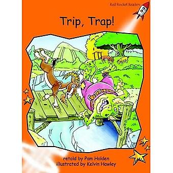 Trip Trap: Level 1: Fluency (Red Rocket Readers: Fiction Set A)