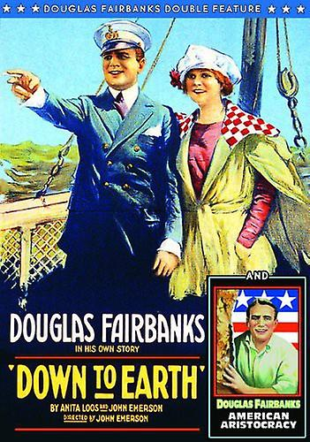Fairbanks Double Feature: American Aristocracy/Dow [DVD] USA import
