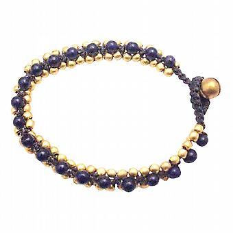 Jewelry Gift Opal Stone Bracelet Golden Beads Bracelet