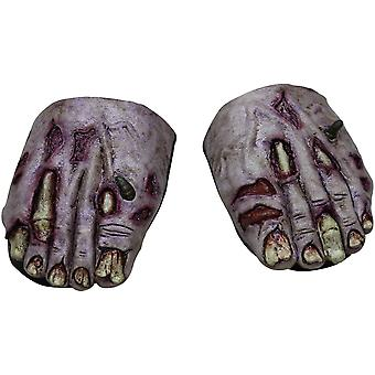 Zombie Undead Feet Cover For Adults