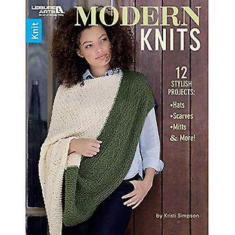 Modern Knits: 12 Stylish Projects: Hats, Scarves, Mittens and More