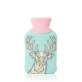 Huggable Hottie Mini Hot Water Bottle: Deer Head