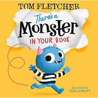 There's a Monster in Your Book by Tom Fletcher - 9780141376103 Book