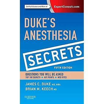 Duke's Anesthesia Secrets (5th Revised edition) by James Duke - Brian