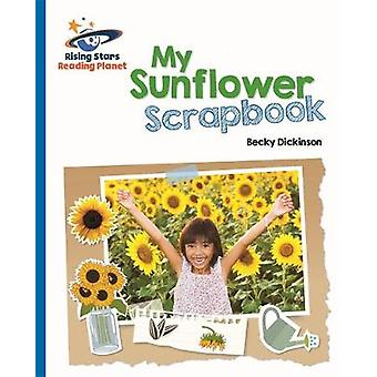 Reading Planet - My Sunflower Scrapbook - Blue - Galaxy by Becky Dicki