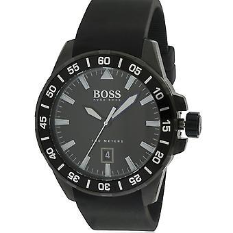 Hugo Boss Oceaan diep siliconen Mens Watch 1513229