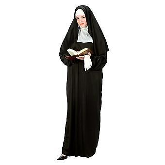 Moeder Superior Nun zus religieuze gewoonte aankleden kostuum Womens Plus Size