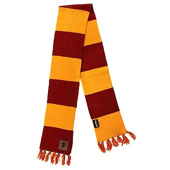 Harry Potter Gryffindor Patch Striped Scarf