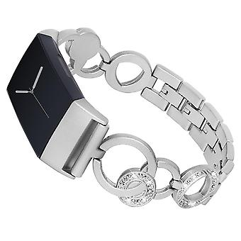 Bakeey stainless steel strap watch band for fitbit charge 3