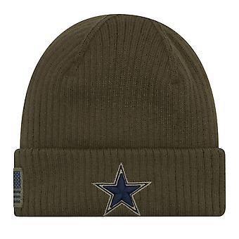 New Era Salute to Service Wintermütze - Dallas Cowboys