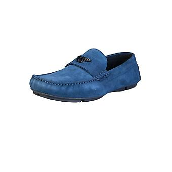 Emporio Armani Loafers Shoes X4B124 XF188