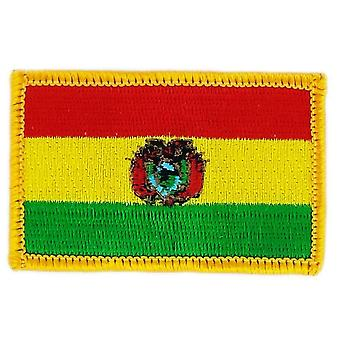 Patch Ecusson Brode Drapeau Bolivie Bolivien Thermocollant  Insigne Blason