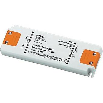 GoobayLED driverGoobay constante actual LED Driver 350 mA/20 W 30603