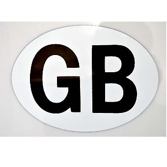 1 X Great Britain Magnetic Sticker Fully Magnetic GB Plate