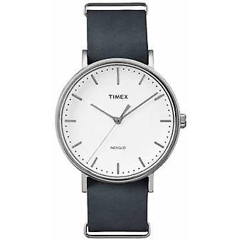 Timex Unisex Weekender Fairfield White Dial TW2P91300 Watch