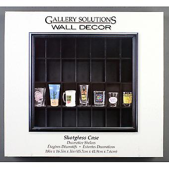 Gallery Solutions Shot Glass Case 17.9