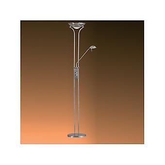 4329CC Polished Chrome Mother & Child Floor Lamp