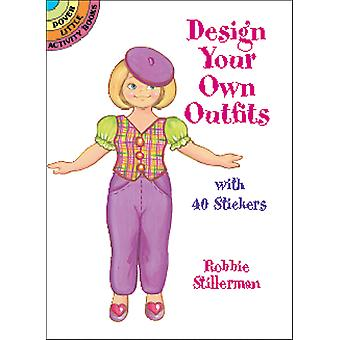 Dover Publications-Design Your Own Outfits W/Stickers DOV-42346