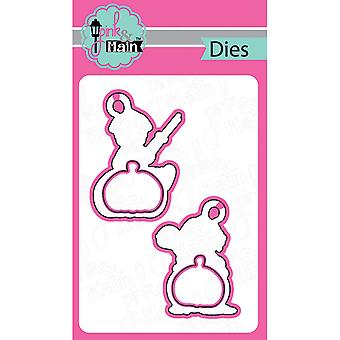 Pink And Main Dies-Hey Pumpkin, 4/Pkg PNM010