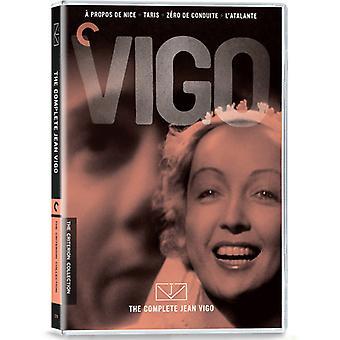 Komplett Jean Vigo [DVD] USA import