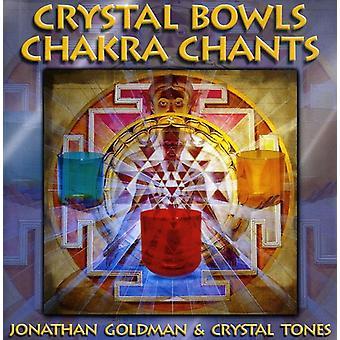 Goldman/krystal - krystal skåle Chakra Chants [CD] USA import