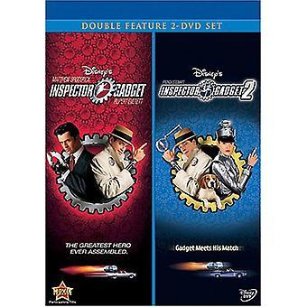 Inspector Gadget 1-2 [DVD] USA importeren