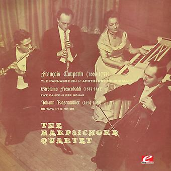 Frescobaldi / Cembalo Quartett - fünf Canzoni pro Sonar - Rosenmuller: Klaviersonate Nr. 2 [CD] USA Import