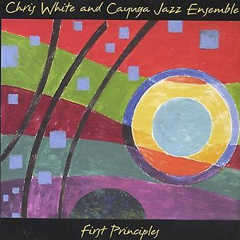 Chris White & Cayuga Jazz Ensemble - First Principles [CD] USA import