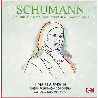 Schumann - konsert för Piano & Orkester i en mindre Op. 54 [CD] USA import