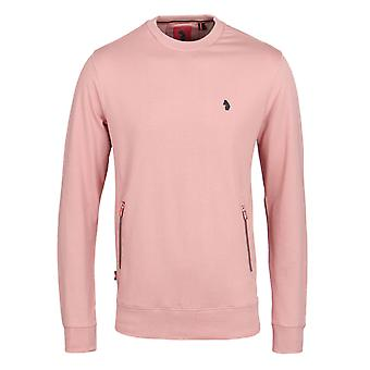 Luke 1977 Devon Minnow Lux Salmon Zip Pocket Sweatshirt