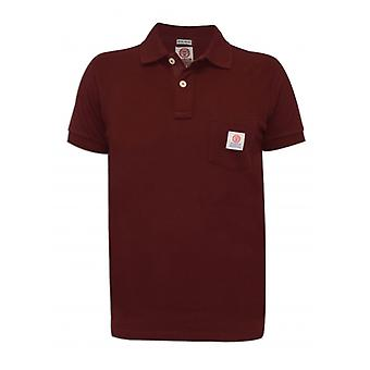 Franklin & Marshall Franklin & Marshall Mens Bordeaux Polo Shirt