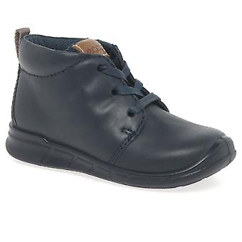 Ecco Marble Lace Boys First Boots