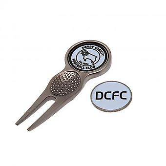 Derby County Divot Tool & Marker