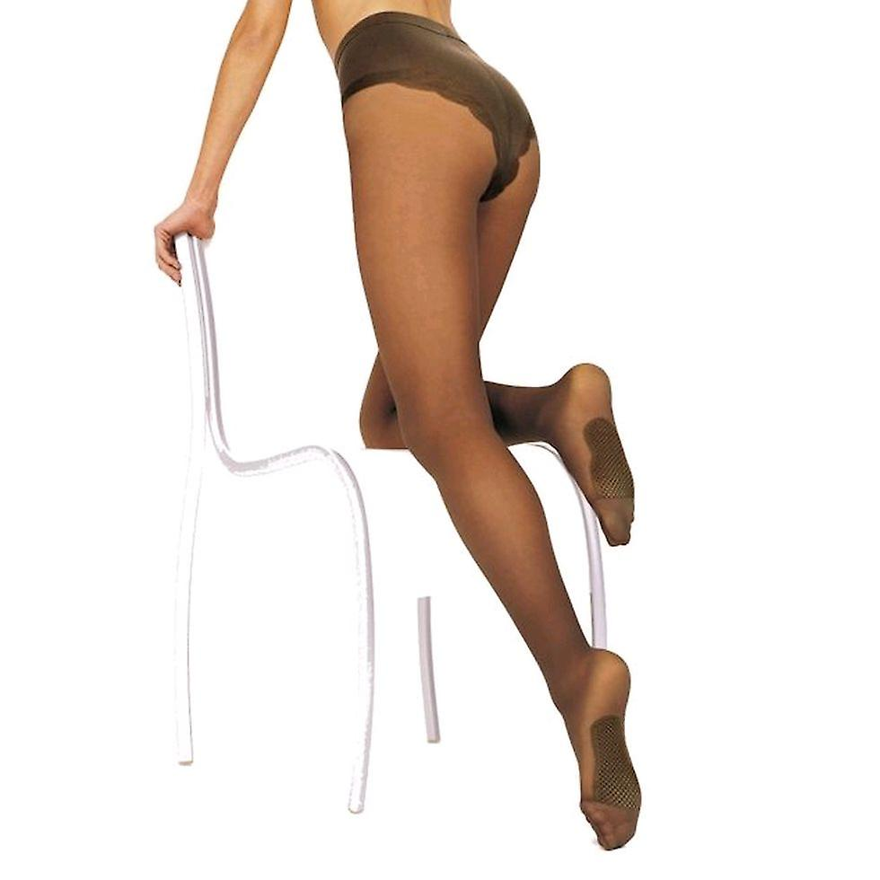 Solidea Naomi 100 Sheer Support Tights [Style 131A0] Bronze (Brown)  XL