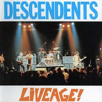 Efterkommere - Liveage [CD] USA importerer