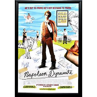 Napoleon Dynamite - Signed Movie Poster